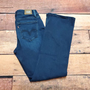 Levi's 529 Curvy Bootcut Jeans Size 8 | Dark Wash